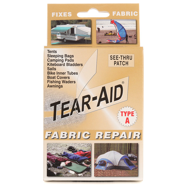 tear aid fabric repair kit type a sailrite. Black Bedroom Furniture Sets. Home Design Ideas