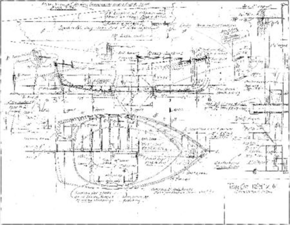 Tom Cat,william Garden' 130sqft Gaff Sail Sail Data