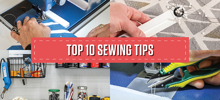 Read our best sewing tips and tricks so you can sew like a pro.