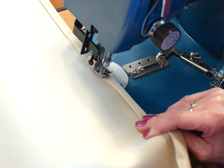 Sewing on a Sailrite Ultrafeed LSZ-1 sewing machine