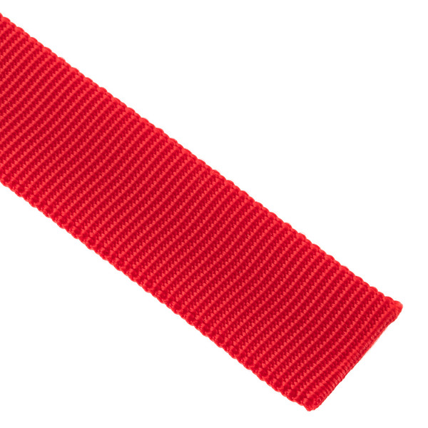 "Webbing Tubular Nylon 1"" Red 2400#"