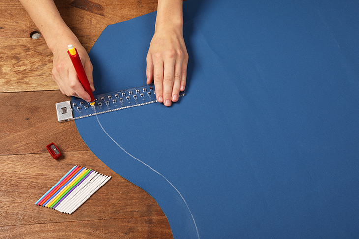 Sailrite Canvas Patterning Ruler