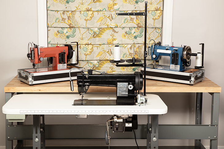 Ultrafeed and Fabricator Sewing Machines