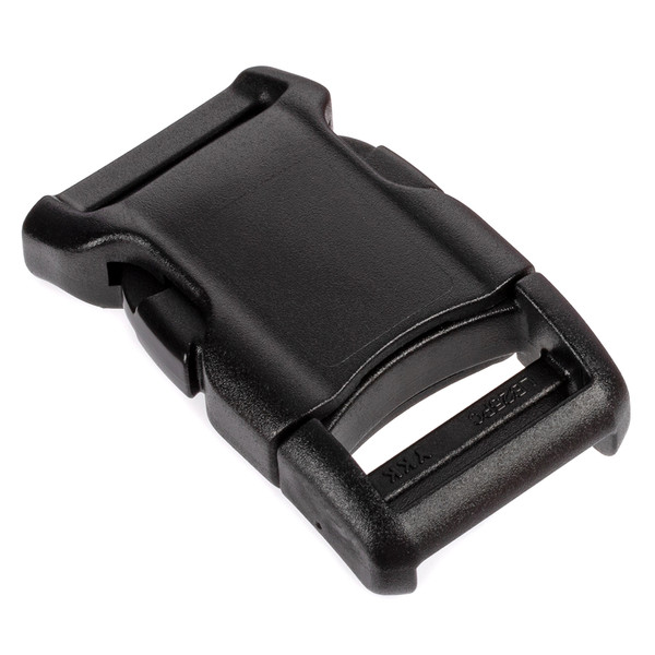 YKK® Curved Side Release Buckle Black 1""