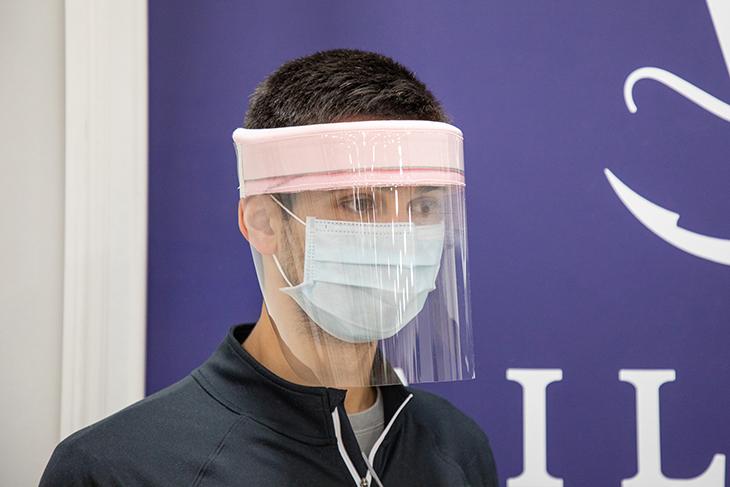 DIY Face Mask Shield